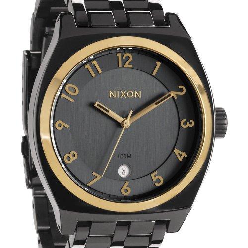 Nixon Men's Quartz Watch Monopoly A3251228-00 with Metal Strap