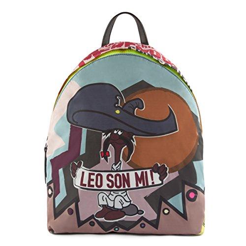 LEO STUDIO DESIGN FW16-001-SON - Bolso mochila de Satén para mujer Multicolor Leo Son Mi taglia unica