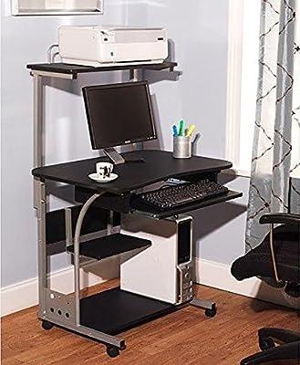Mobil Computer Desk workstation for Laptops and Desktop towers