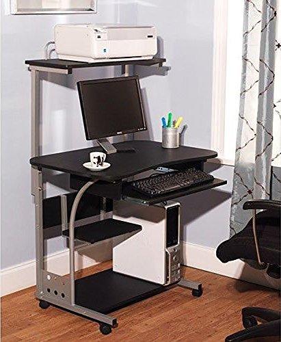 Mobil Computer Desk workstation for Laptops and Desktop towers - Mobil Tower
