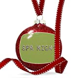 Christmas Decoration Spa Night Spa Stones Rocks Ornament