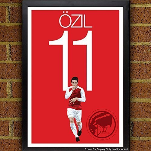 Ozil Poster - Arsenal Soccer Art