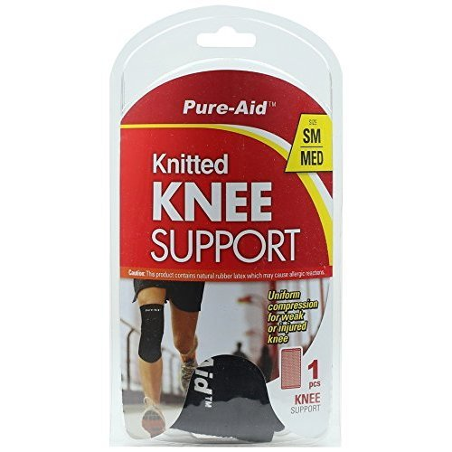 (PURE-AID Knitted Knee Support (SM/MED))