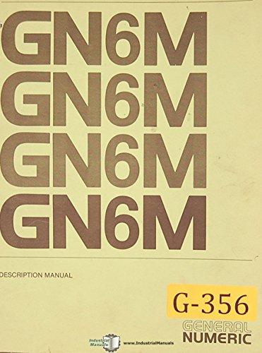 General Numeric GN6M, CNC Control Manual