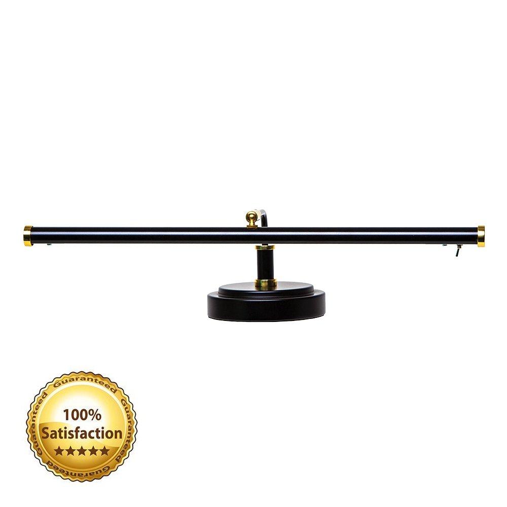 Cocoweb PLED101D LED Piano Light, Black/Brass