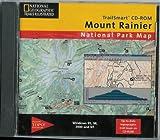 TrailSmart CD-ROM Mount Rainier National Park Map
