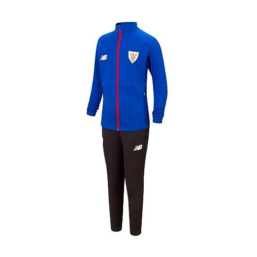 New Balance AC Bilbao Paseo 2019-2020, Chándal, Azul-Negro, Talla ...