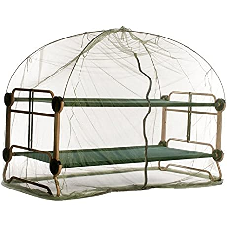 Disc O Bed Large Cam O Bunk Benchable Bunked Double Cot Mosquito Net And Frame