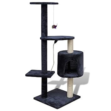 Amazon.com: Árbol para gatos rascador para gato 44.9 inch 1 ...
