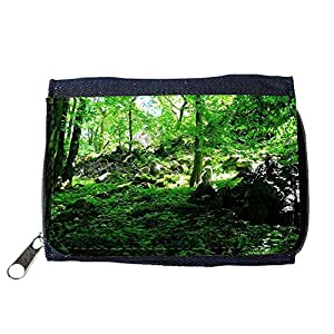 le portefeuille de grands luxe femmes avec beaucoup de compartiments // M00154950 Árbol árboles vegetación verde Arbustos // Purse Wallet