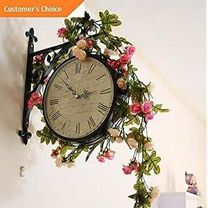 Hebel 10X Artificial Rose Garland Silk Florals Fake Vine Ivy Wedding Party String Hang | Model ARTFCL - 1071 | 110
