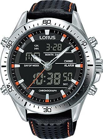 fc9fabe532d1 Lorus Reloj de Pulsera RW637AX9  Amazon.es  Relojes