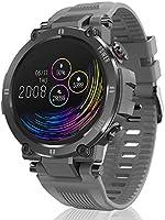 HopoFit Montre Connectée Homme Femme Smartwatch Écran Tactile Sport Etanche IP68 Bracelet Connecté Fitness Tracker...