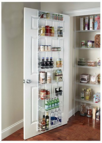 Door Spice Wall Mount Storage Kitchen Shelf Pantry Holder Rack Cabinet (Adjustable Pantry Shelves)