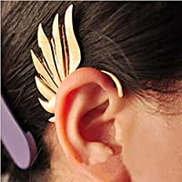 Vintage Jewelry Men Women Wing Shape Punk Gothic Ear Cuff Clip Stud Earring