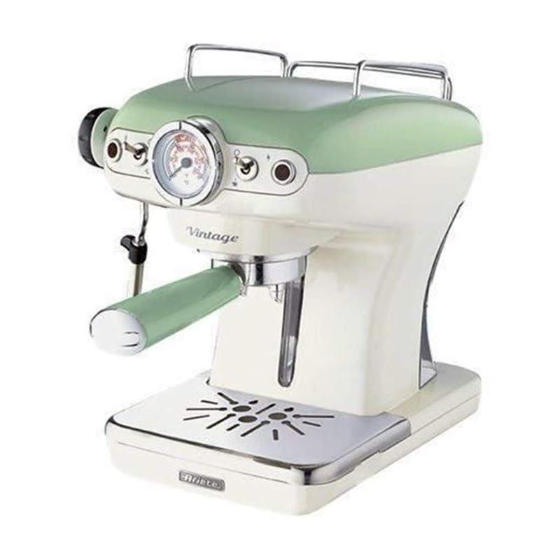 Siebträgermaschinen unter 200 Euro: Ariete 1389 Vintage Espressomaschine