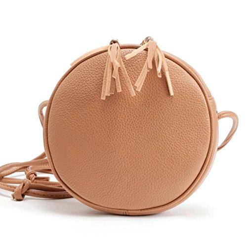 Sunfei Leather Handbag Shoulder Messenger