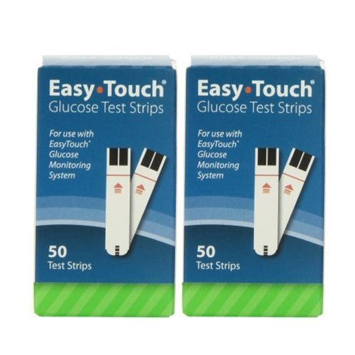 EasyTouch Glucose Test Strip, 100 Count by Easy Touch