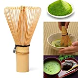 Lovelyback 64 Matcha Green Tea Matcha Bamboo Whisk Bamboo Useful Brush Tools Kitchen Accessories