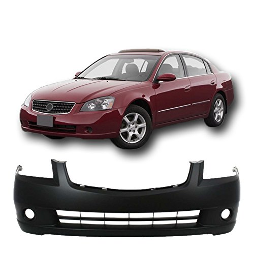 MBI AUTO - Primered, Front Bumper Cover 2005 2006 Nissan Altima Sedan, NI1000219 (Nissan Altima 2005 Bumper Cover compare prices)