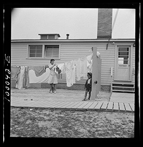 Best buy 1942 Photo Arlington, Virginia. FSA (Farm Security Administration) trailer camp project for Negroes. Hanging out