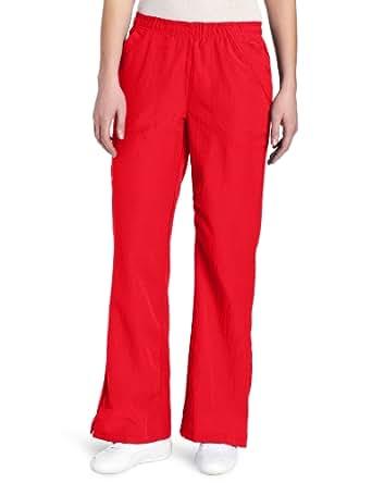 WonderWink Women's Scrubs Four Way Stretch Flip Flare Leg Pant, Poppy, X-Small