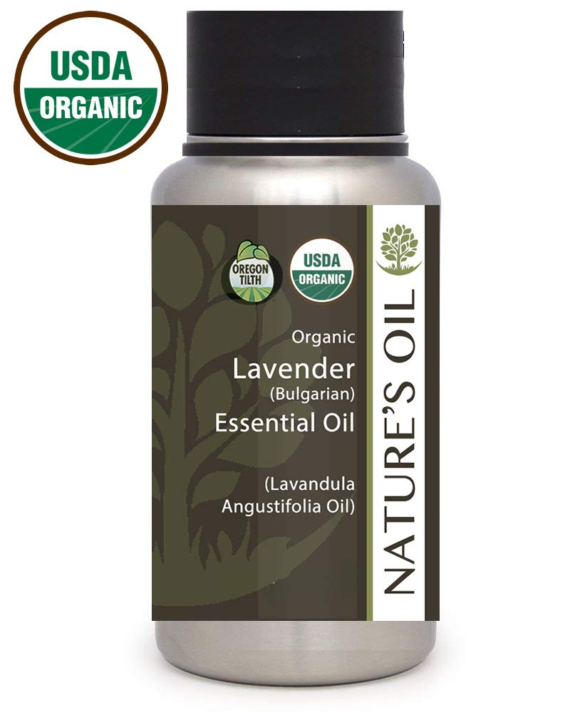 Best Lavender Essential Oil Pure Certified Organic Therapeutic Grade 1Lb by Nature's Oil
