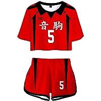 Xiao Maomi Haikyuu Kozume Kenma Cosplay Oikawa Tooru Costume Volleyball School Uniform for T Shirt Tee and Shorts Set