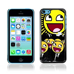 YOYOSHOP [Funny Awesome Smiley Army] Apple iPhone 5C Case