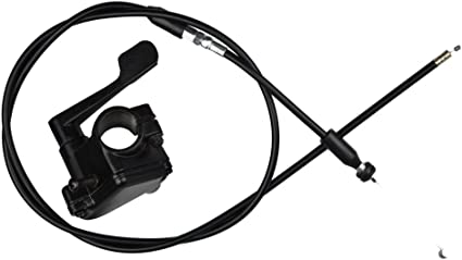 "7//8/"" 22mm Thumb Throttle Cable Handle Assembly 50cc 70cc 90cc 110cc 125cc ATV"
