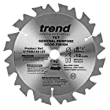 Trend PSB/16512T Professional Saw Blade 6-1/2-Inch by 12 Tooth 5/8-Inch Bore, Thin Kerf Cordless Trim Saw Blade