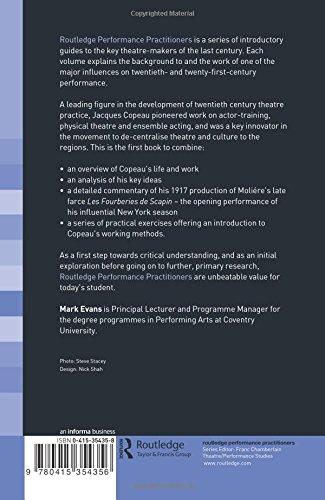 Jacques Copeau (Routledge Performance Practitioners)
