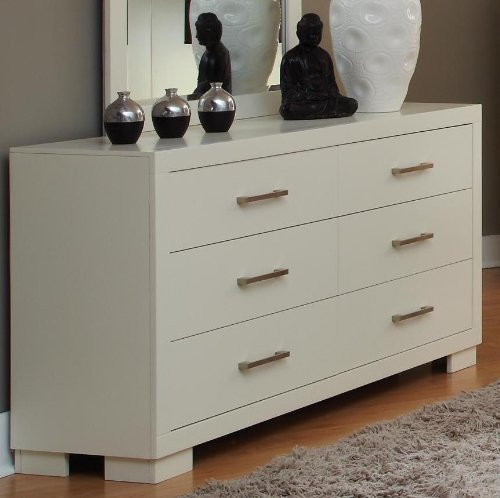 Coaster Home Furnishings Contemporary Dresser, White