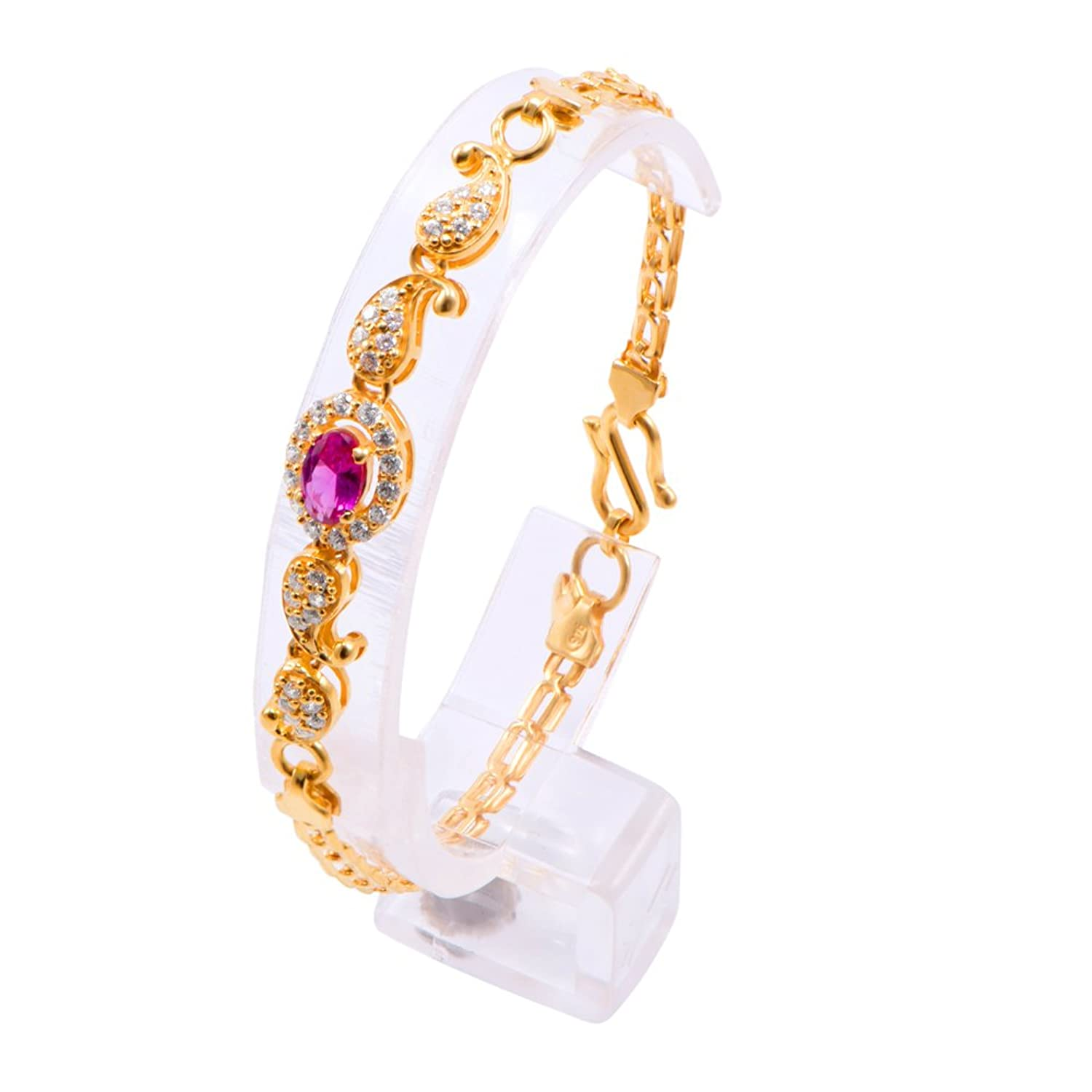 Buy Joyalukkas Impress Collection 22k Yellow Gold Charm Bracelet