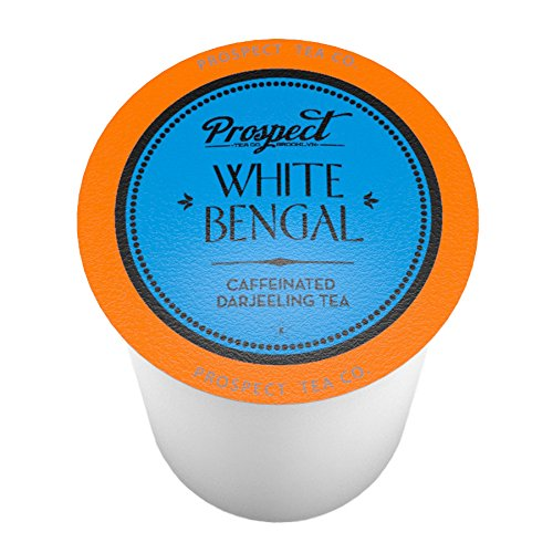 (Prospect Tea White Bengal Single-Cup Tea for Keurig K-Cup Brewers, 40 Count)