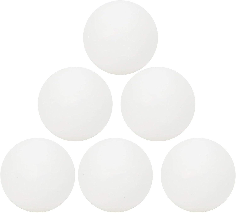 XINMYD Pelotas de Tenis de Mesa, 6Pcs/Set Pelotas de Tenis de Mesa Pelota de plástico ABS de 3 Estrellas para Deportes de Entrenamiento de Ping-Pong