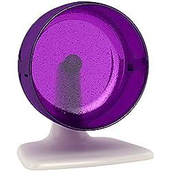 """BioBubble Whisper Wheel, 6"""", White and Purple"""