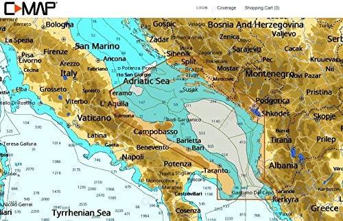 C-MAP NT + Wide – Adriatic Sea – de Tarjeta de c: Amazon.es ...