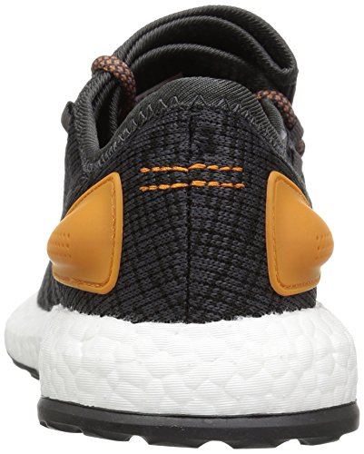 the best store to get low price for sale adidas Originals Men's Pureboost Running Shoe Black/Black/Tactile Orange wOYDjTy