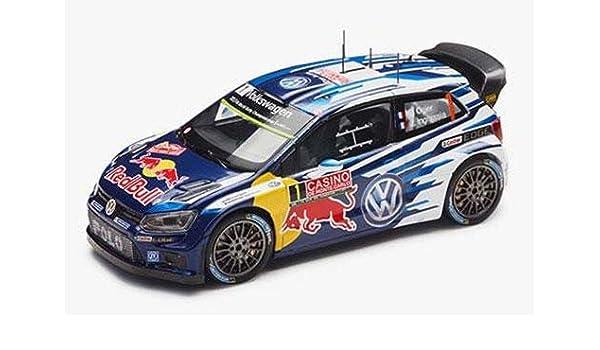 VW Polo WRC 2015 Modellfahrzeug 1:43, Ogier/Ingrassia - 6C1099300A ...