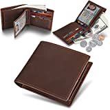 H-andybag Men's Gift RFID Blocking Bifold Genuine Leather Wallet For Men