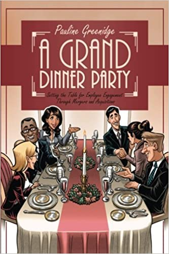 A Grand Dinner Party Setting The Table For Employee Engagement - Book table for dinner