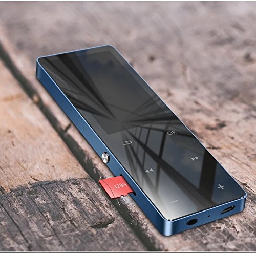Soutien Carte /à 128G Lecteur MP3 Bluetooth 4.0 Sotefe/® 32Go Lecteur MP3 Bluetooth 2.5D Miroir /Écran Tactile MP3//MP4 Player Baladeur Super Sonore Haut-Parleur Vid/éo FM Radio Enregistrement E-Book Musique Jouer Plus 100H