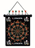 Miami Hurricanes NCAA Licensed Magnetic Dart Board