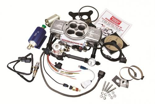 Professional Products 70027 Powerjection III Polished Finish EFI System Complete Kit