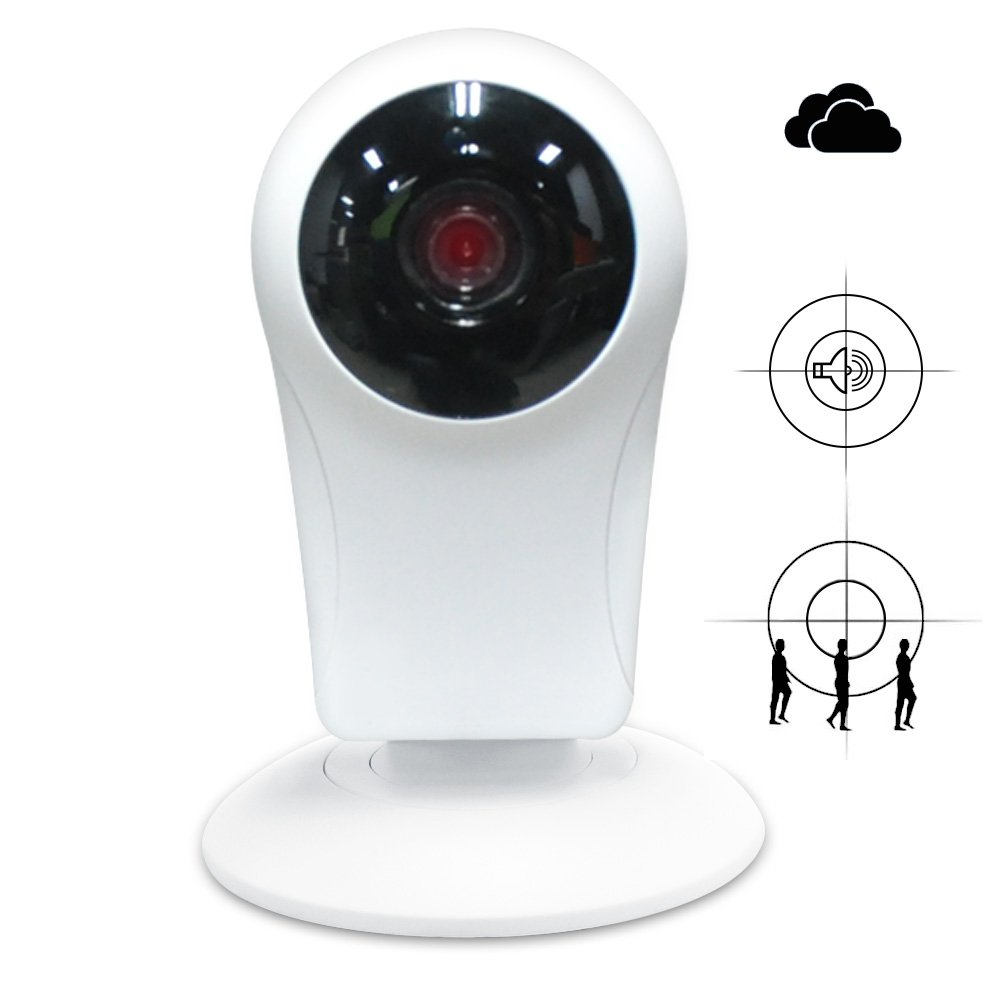Security Camera HD 720p Surveillance Camera Wireless IP Camera Night Vision Two-way Audio Motion Detection Alerts Home Monitoring