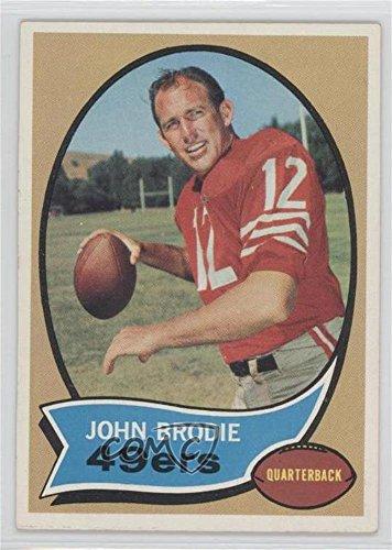 John Brodie (Football Card) 1970 Topps - [Base] #130