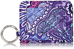Vera Bradley Women\'s Campus Double Id, Lilac Tapestry