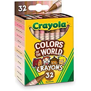 Crayola Multicultural Crayons - 32 Count (2 pack)