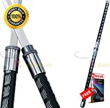 ninja assassin sword - 2 in 1 Black Double Bladed Ninja Sword Staff Spear PRIME sharp strong blade eBOOK by MOON KNIVES